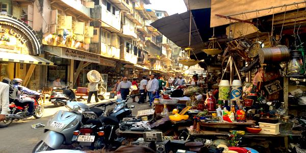 Chor Bazaar Mumbai Second Hand Goods Bazaar Stolen Goods