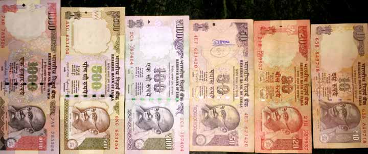 India Currency Guide Indian Rus Advice Money Cards